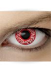 """Effekt Kontaktlinse """"Blut"""" (inkl. Pflegemittel + Linsenbehälter)"""