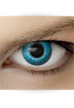 """Effekt Kontaktlinse """"Elfe blau"""" (inkl. Pflegemittel + Linsenbehälter)"""
