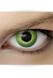 """Effekt Kontaktlinse """"Elfe grün"""" (inkl. Pflegemittel + Linsenbehälter)"""