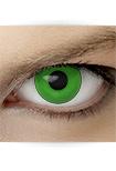 "Effekt Kontaktlinse ""Manga grün"" (inkl. Pflegemittel + Linsenbehälter)"