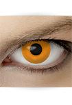 """Effekt Kontaktlinse """"Manga orange"""" (inkl. Pflegemittel + Linsenbehälter)"""