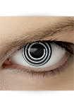 "Effekt Kontaktlinse ""Spirale"" (inkl. Pflegemittel + Linsenbehälter)"
