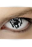 "Effekt Kontaktlinse ""Zebra"" (inkl. Pflegemittel + Linsenbehälter)"