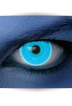 "Effekt Kontaktlinse ""UV blau"" (inkl. Pflegemittel + Linsenbehälter)"