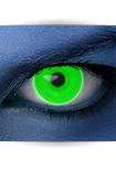 """Effekt Kontaktlinse """"UV grün"""" (inkl. Pflegemittel + Linsenbehälter)"""