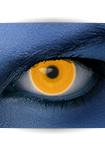 "Effekt Kontaktlinse ""UV orange"" (inkl. Pflegemittel + Linsenbehälter)"