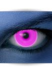 """Effekt Kontaktlinse """"UV pink"""" (inkl. Pflegemittel + Linsenbehälter)"""