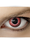 "Effekt Kontaktlinse ""Elfe rot"" (inkl. Pflegemittel + Linsenbehälter)"