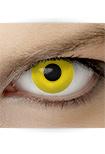 """Effekt Kontaktlinse """"Krähe"""" (inkl. Pflegemittel + Linsenbehälter)"""