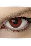 "Effekt Kontaktlinse ""Manga braun"" (inkl. Pflegemittel + Linsenbehälter)"