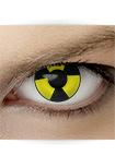 "Effekt Kontaktlinse ""Nuklear"" (inkl. Pflegemittel + Linsenbehälter)"