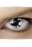"Effekt Kontaktlinse ""Rabe"" (inkl. Pflegemittel + Linsenbehälter)"