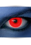 """Effekt Kontaktlinse """"UV rot"""" (inkl. Pflegemittel + Linsenbehälter)"""